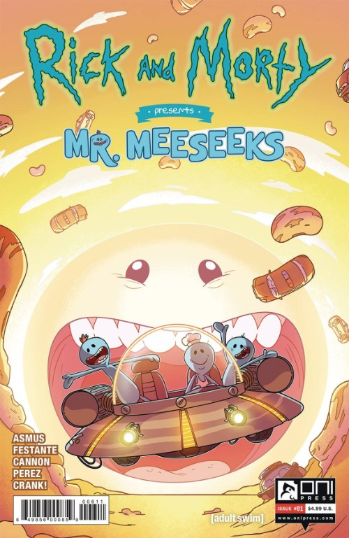 RICK AND MORTY PRESENTS: MR. MEESEEKS#1