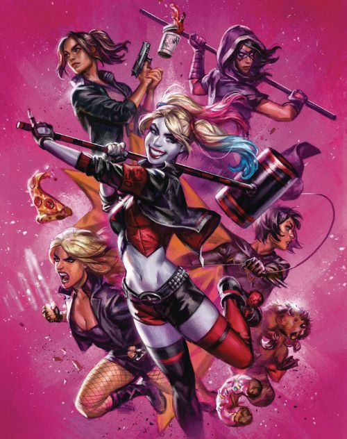 HARLEY QUINN AND THE BIRDS OF PREY#3