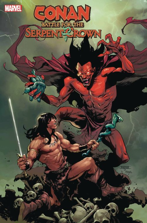 CONAN: BATTLE FOR THE  SERPENT CROWN#5