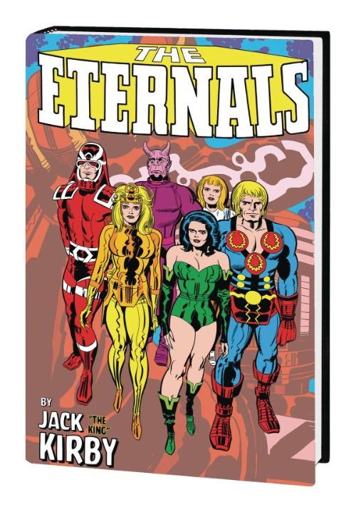 ETERNALS BY JACK KIRBY MONSTER-SIZE