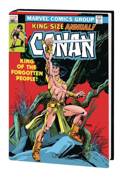 CONAN THE BARBARIAN: THE ORIGINAL MARVEL YEARS OMNIBUSVOL 05