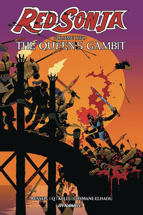 RED SONJAVOL 02: THE QUEEN'S GAMBIT