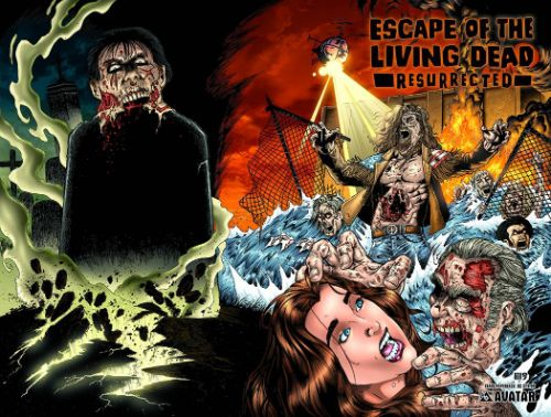 ESCAPE OF THE LIVING DEAD: RESURRECTED
