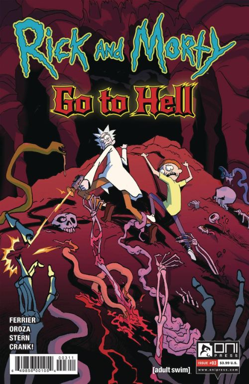 RICK AND MORTY: GO TO HELL#3