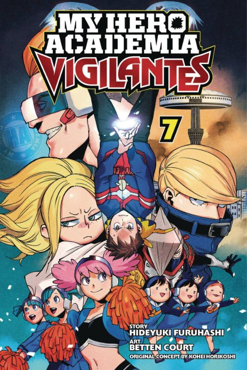 MY HERO ACADEMIA: VIGILANTES VOL 07