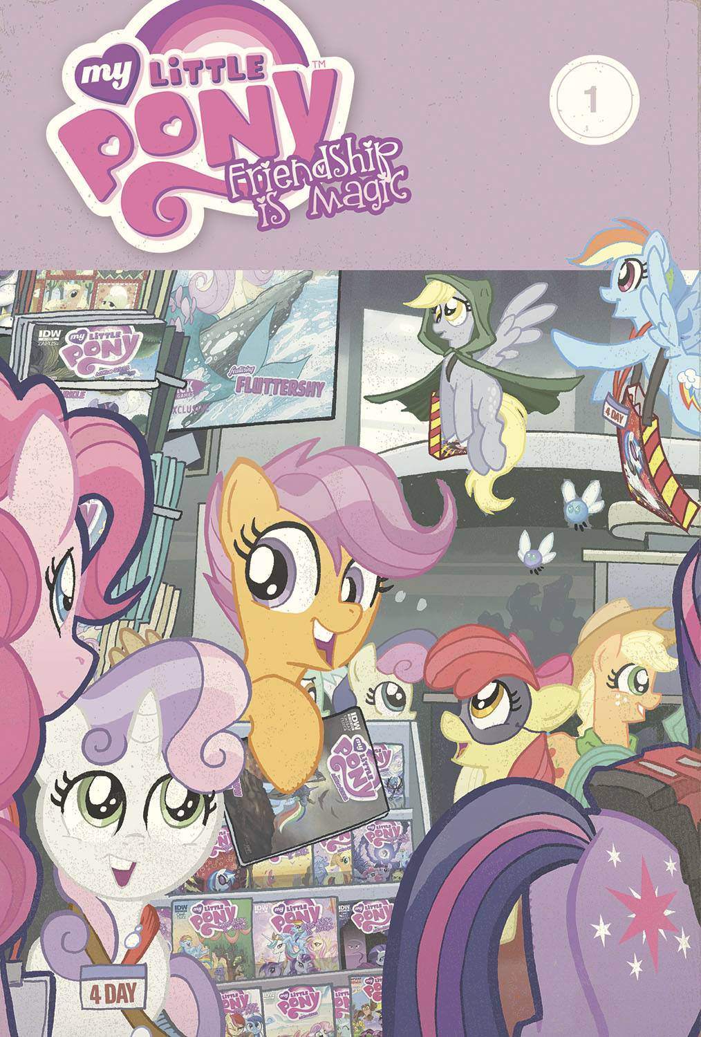 MY LITTLE PONY: FRIENDSHIP IS MAGIC OMNIBUS VOL 01