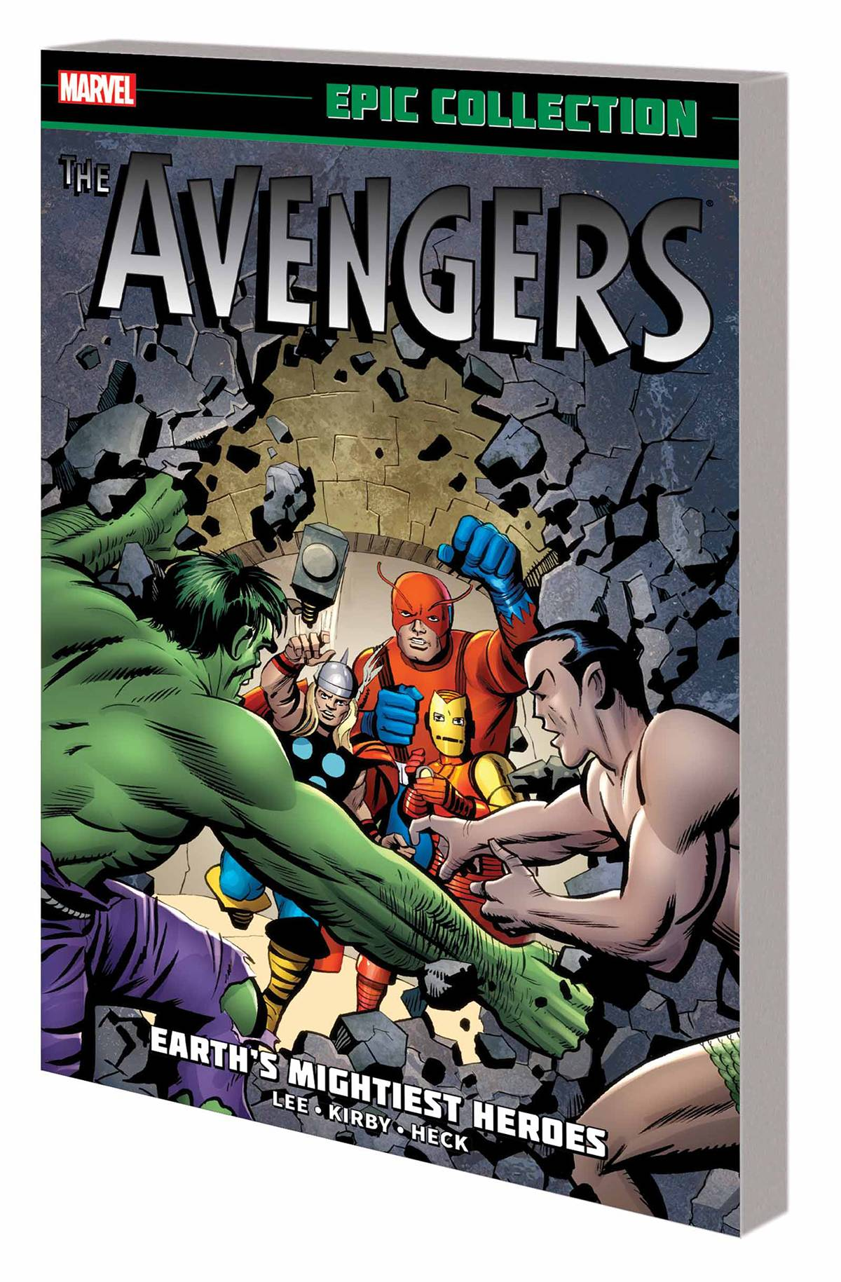 AVENGERS EPIC COLLECTION VOL 01: EARTH'S MIGHTIEST HEROES