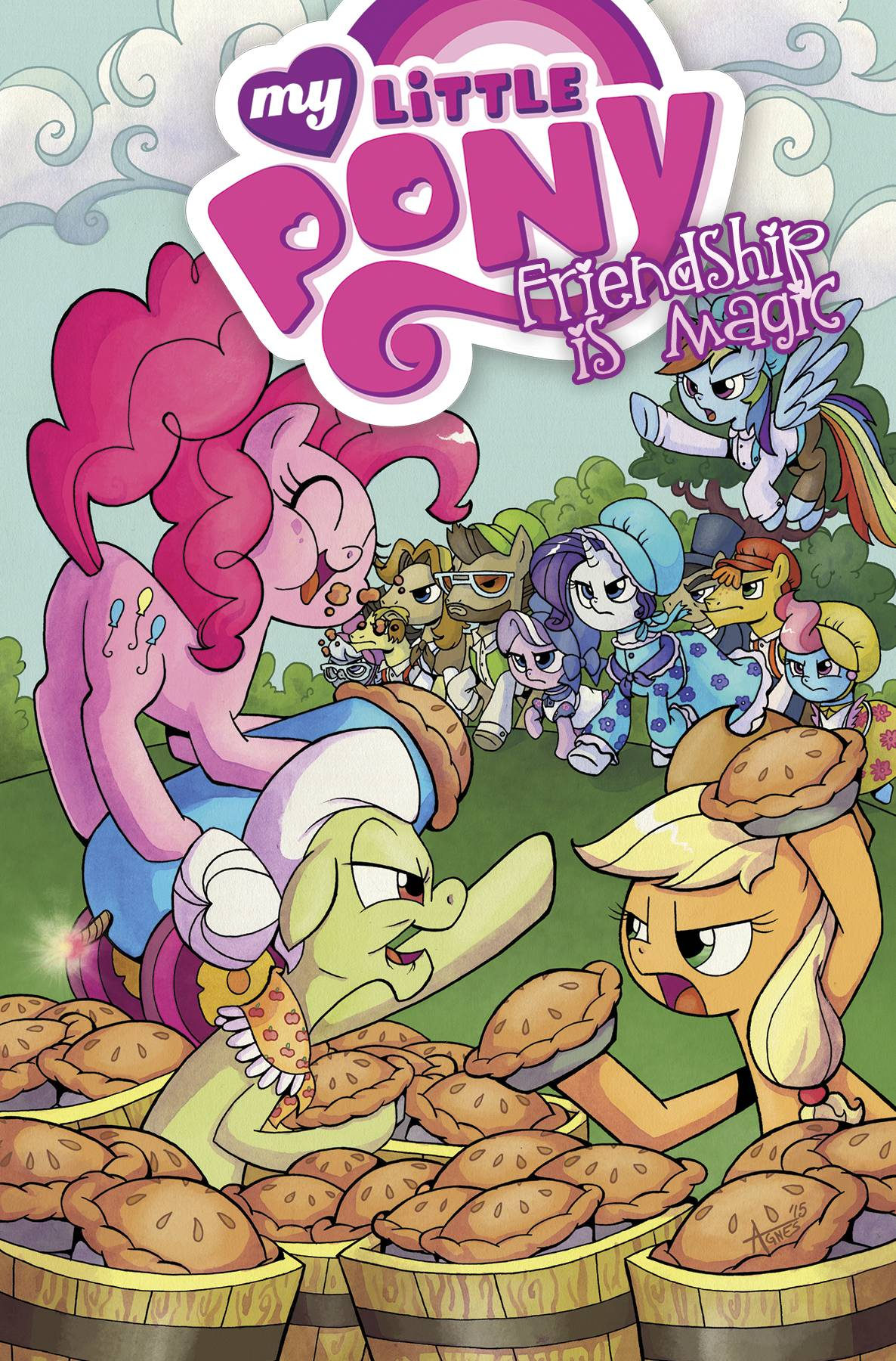 MY LITTLE PONY: FRIENDSHIP IS MAGIC VOL 08