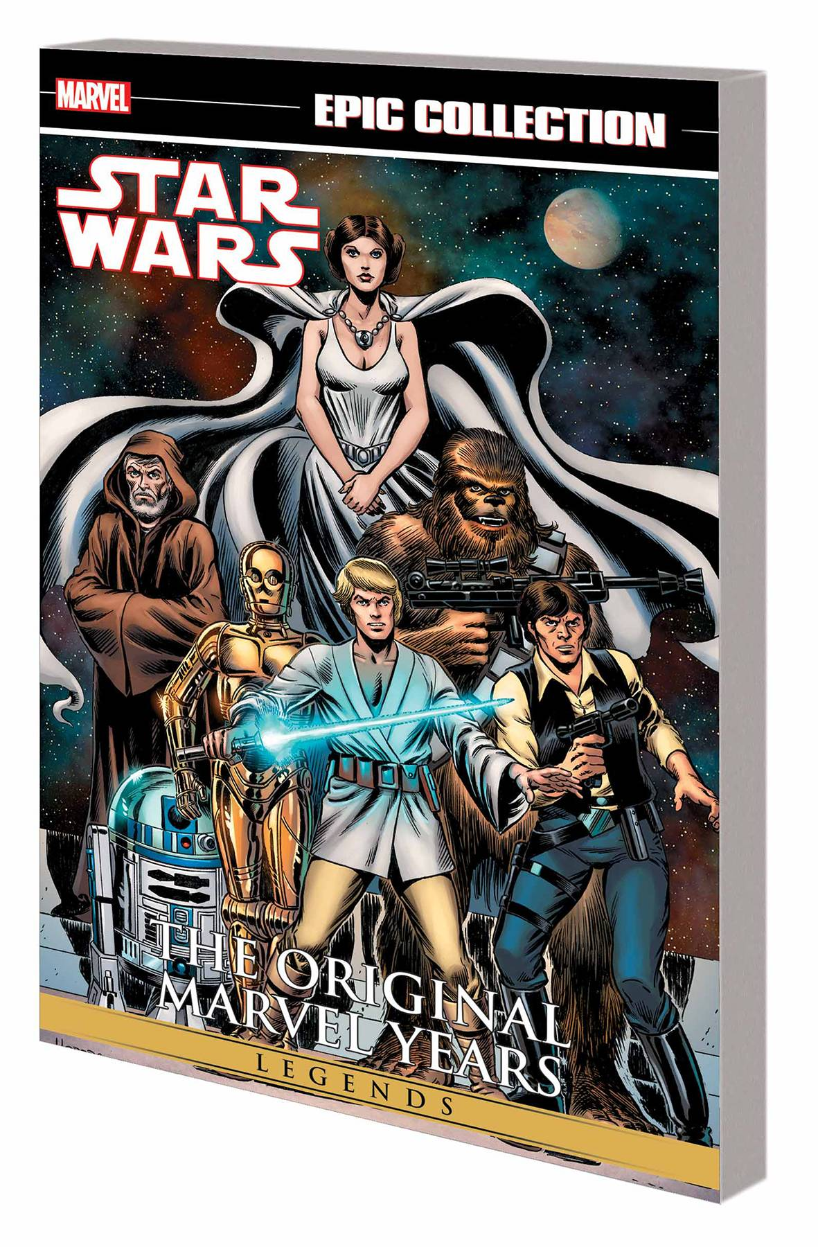 STAR WARS LEGENDS EPIC COLLECTION: THE ORIGINAL MARVEL YEARS VOL 01