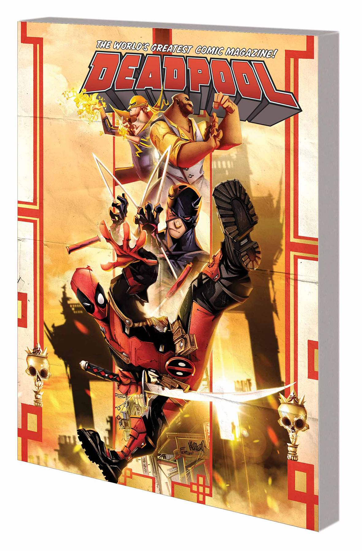 DEADPOOL: WORLD'S GREATEST VOL 04: TEMPORARY INSANITATION