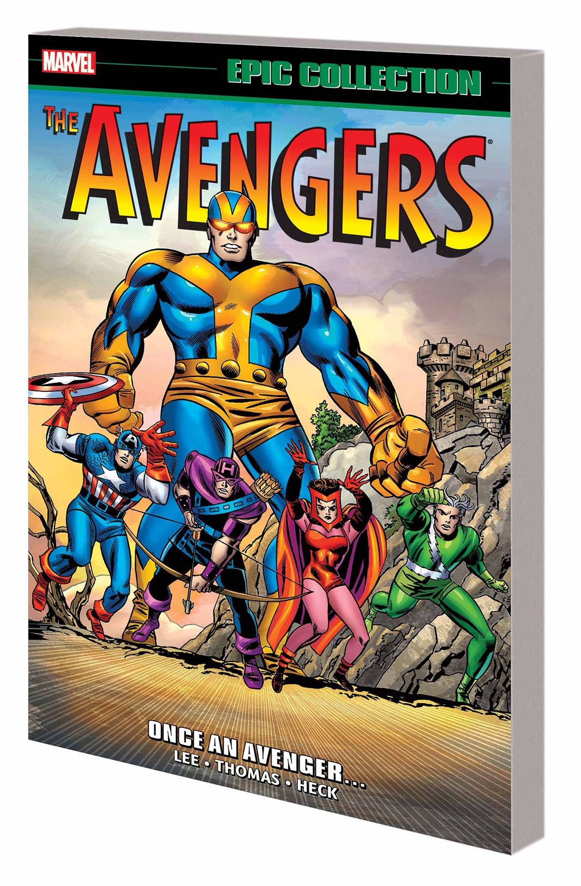 AVENGERS EPIC COLLECTION VOL 02: ONCE AN AVENGERS...