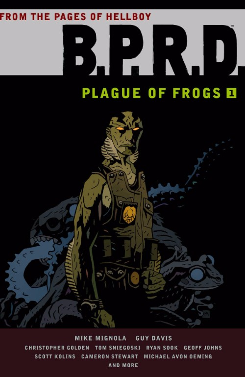 B.P.R.D.: PLAGUE OF FROGSVOL 01