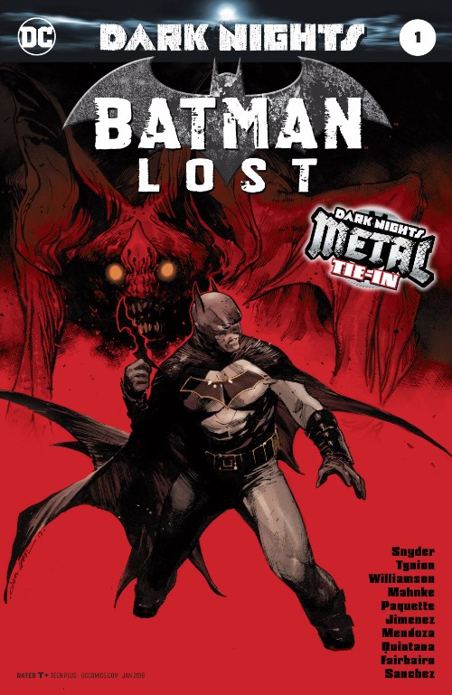 BATMAN LOST#1