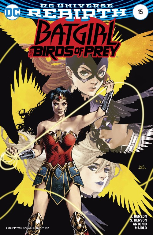BATGIRL AND THE BIRDS OF PREY#15