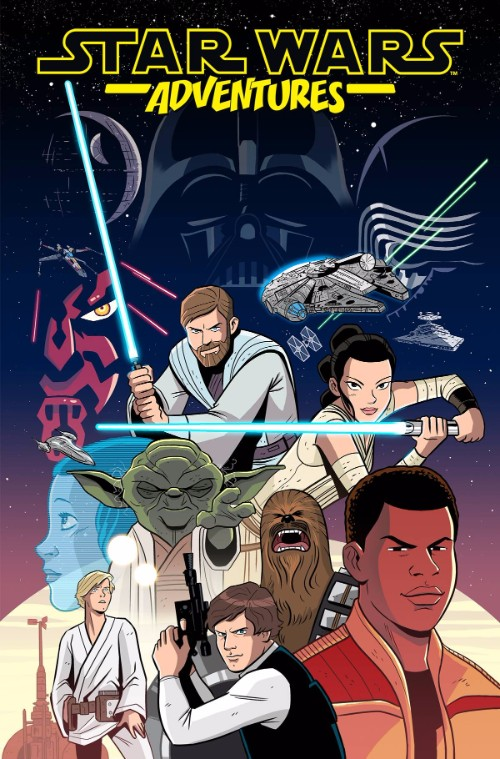 STAR WARS ADVENTURES VOL 01: HEROES OF THE GALAXY