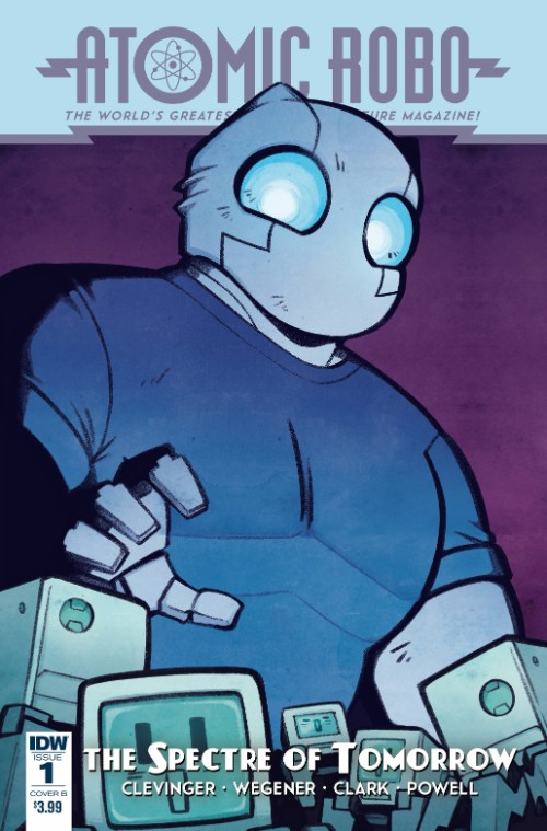 ATOMIC ROBO AND THE SPECTRE OF TOMORROW#1
