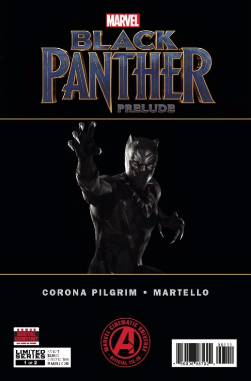 MARVEL'S BLACK PANTHER PRELUDE#1