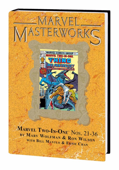 MARVEL MASTERWORKS: MARVEL TWO-IN-ONEVOL 03