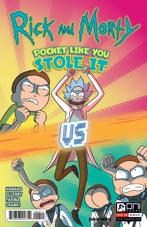 RICK AND MORTY: POCKET LIKE YOU STOLE IT#4