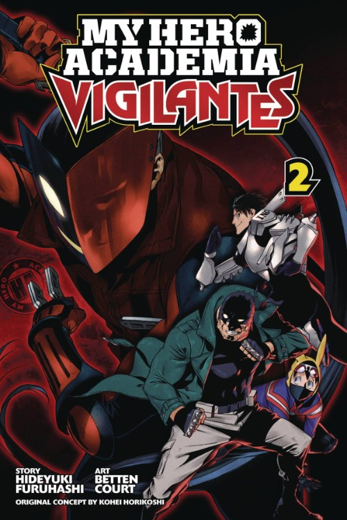 MY HERO ACADEMIA: VIGILANTES VOL 02
