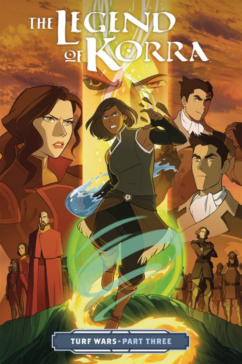 LEGEND OF KORRA: TURF WARSVOL 03