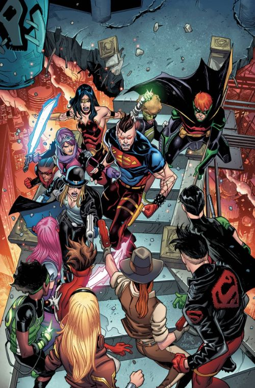 YOUNG JUSTICE#9