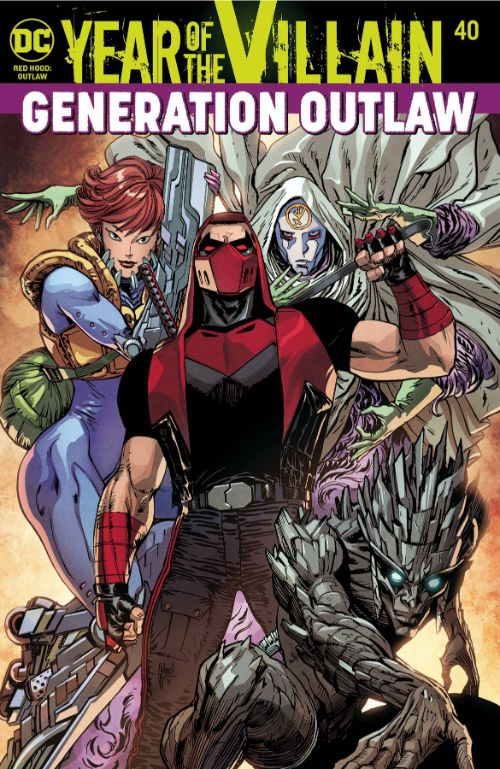 RED HOOD: OUTLAW#40