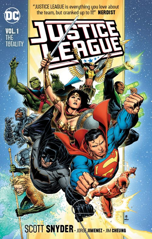 JUSTICE LEAGUEVOL 01: THE TOTALITY