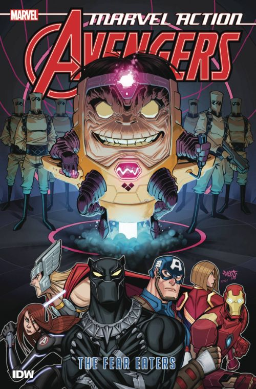 MARVEL ACTION: AVENGERS BOOK 03: THE FEAR EATERS