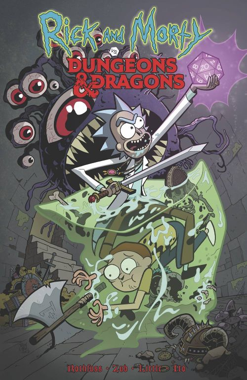 RICK AND MORTY VS. DUNGEONS AND DRAGONSVOL 01