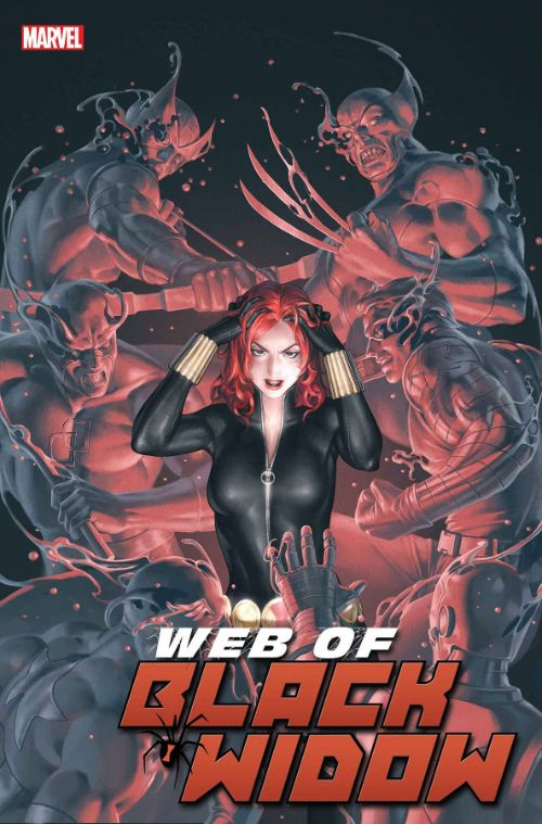 WEB OF BLACK WIDOW#2