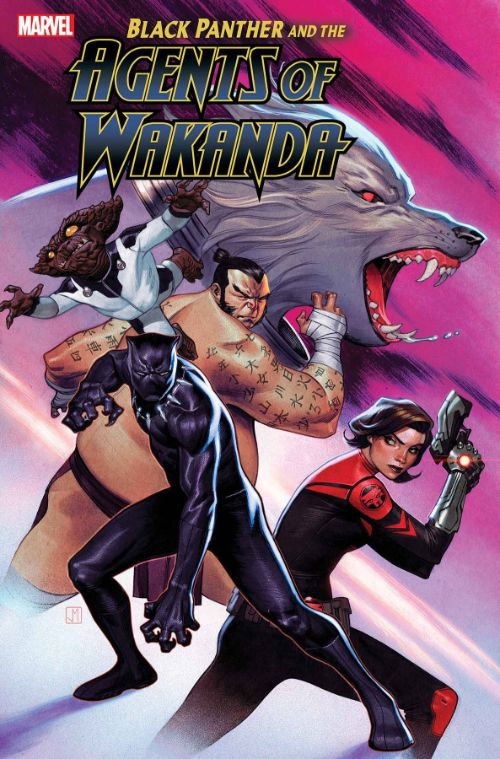 BLACK PANTHER AND THE AGENTS OF WAKANDA#2