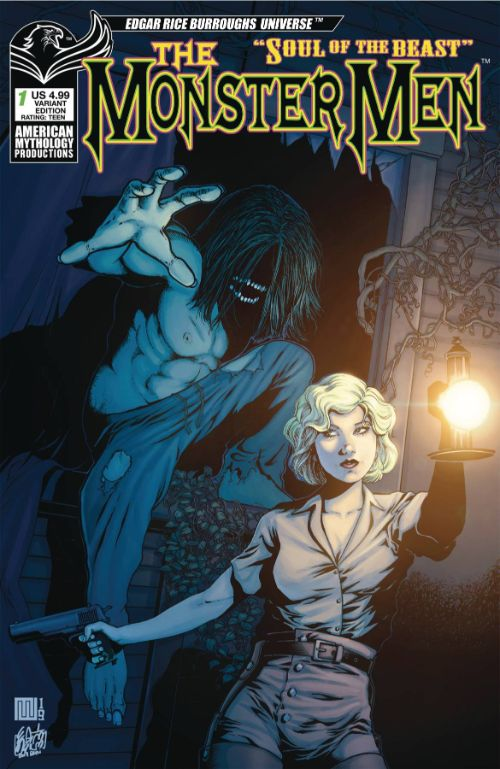 MONSTER MEN: SOUL OF THE BEAST#1