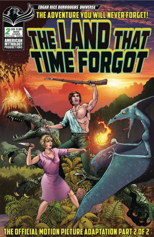 LAND THAT TIME FORGOT 1975#2