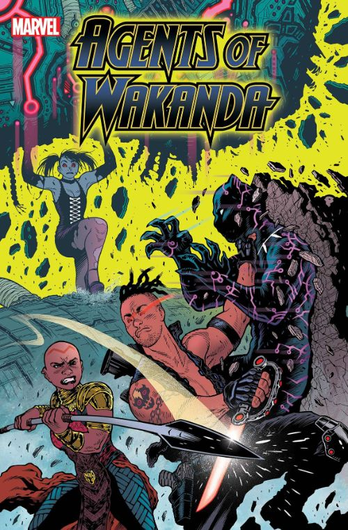 BLACK PANTHER AND THE AGENTS OF WAKANDA#5
