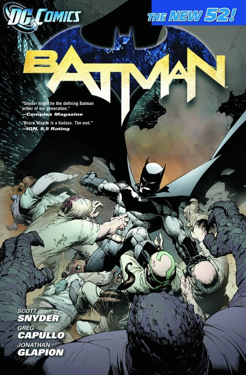 BATMAN VOL 01: THE COURT OF OWLS