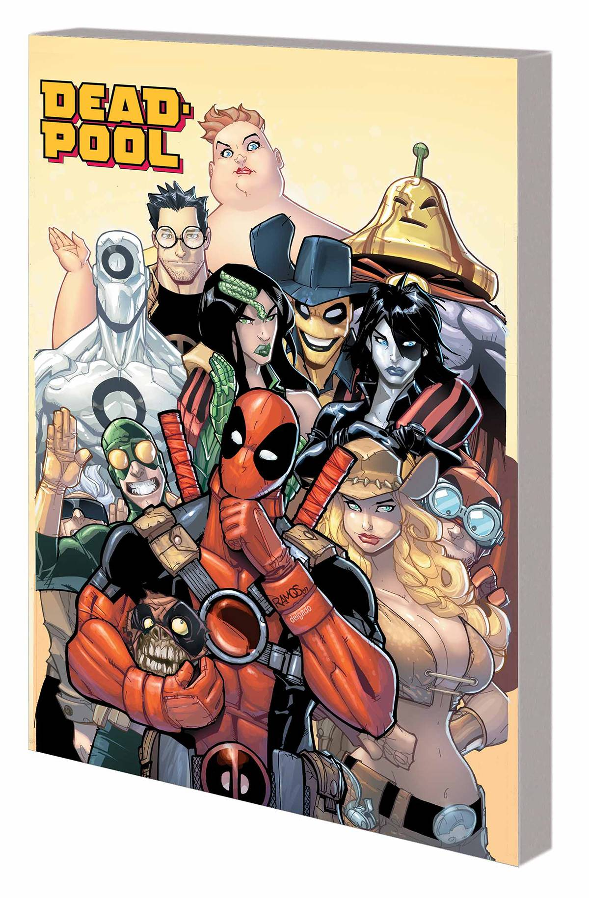 DEADPOOL CLASSIC VOL 15: ALL THE REST