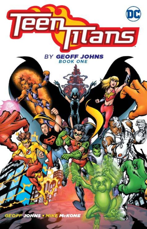 TEEN TITANS BY GEOFF JOHNS BOOK 01