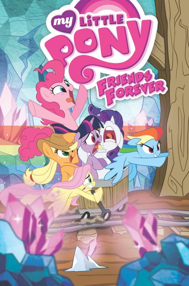 MY LITTLE PONY: FRIENDS FOREVER VOL 08