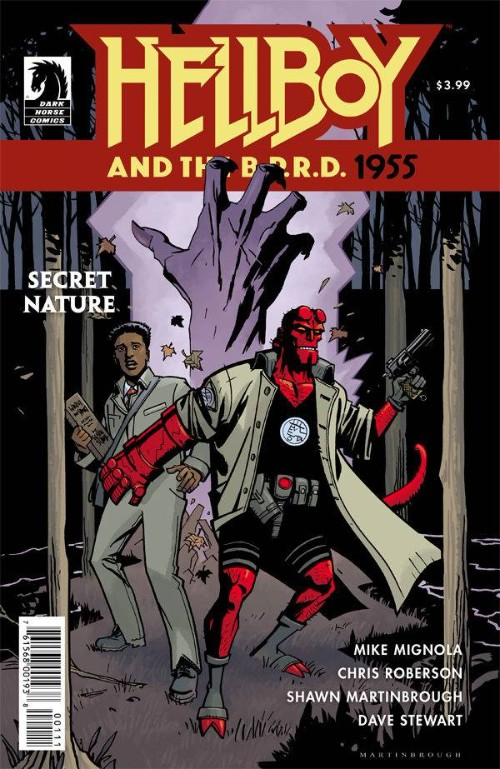 HELLBOY AND THE B.P.R.D.: 1955--SECRET NATURE