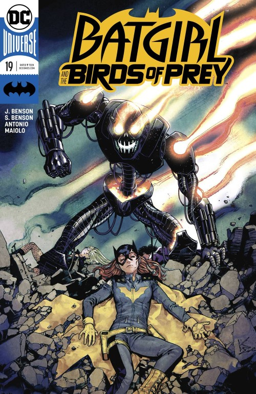 BATGIRL AND THE BIRDS OF PREY#19