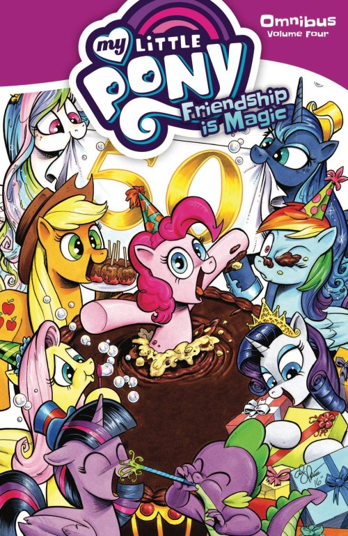 MY LITTLE PONY: FRIENDSHIP IS MAGIC OMNIBUS VOL 04