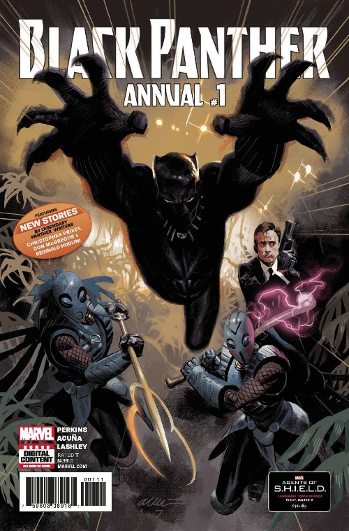 BLACK PANTHER ANNUAL#1
