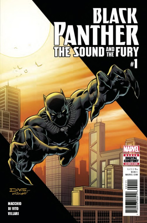 BLACK PANTHER: THE SOUND AND THE FURY#1