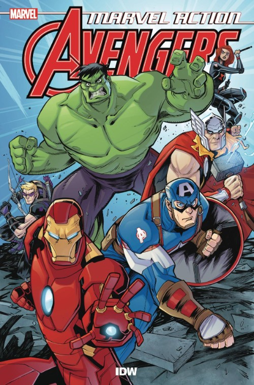 MARVEL ACTION: AVENGERS BOOK 01: THE NEW DANGER