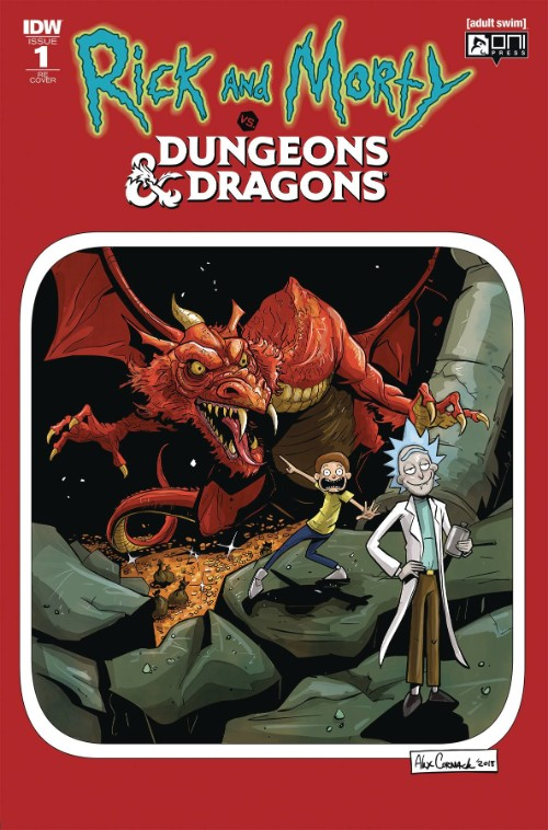 RICK AND MORTY VS. DUNGEONS AND DRAGONS#1