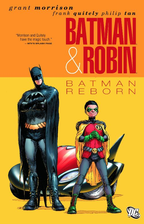BATMAN AND ROBIN[VOL 01]: BATMAN REBORN