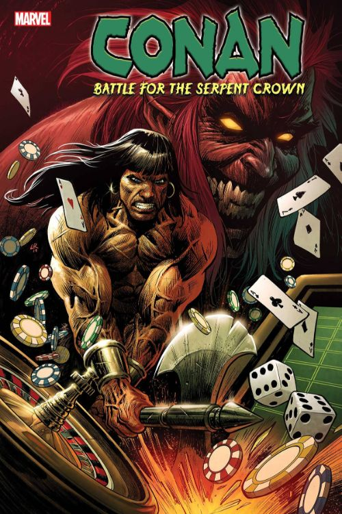 CONAN: BATTLE FOR THE  SERPENT CROWN#1