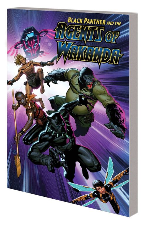 BLACK PANTHER AND THE AGENTS OF WAKANDAVOL 01: EYE OF THE STORM