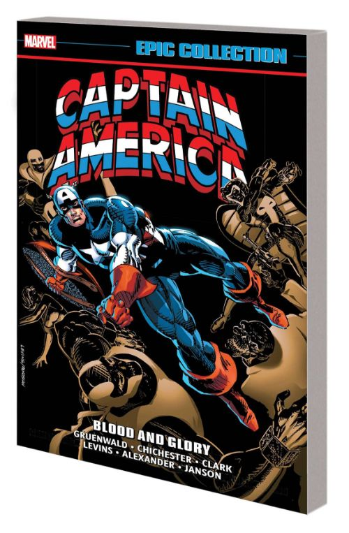 CAPTAIN AMERICA EPIC COLLECTIONVOL 18: BLOOD AND GLORY